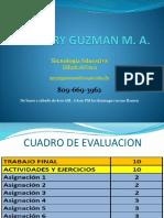 Presentación y Evaluacion T-edu-318 Virtual