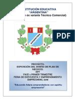 Proyecto ExpoFeria 2018