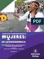 Liderazgos Transformadores de Mujeres en América Latina