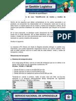Evidencia 7 Analisis de Caso Identificacion de Modos y Medios de Transporte