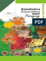 Educación Inicial 2003
