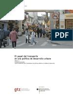 Transporte y Desarrollo Sostenible