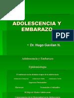 Adolescencia y Embarazo