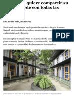 Arquitecta Quiere Compartir Su Mundo Verde Con Todas Las Personas - Diario La Prensa