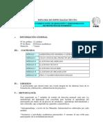 En Formulacion, Elaboracion y Administracion