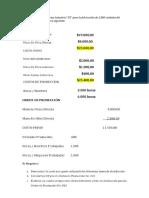 Ejercicio Costes