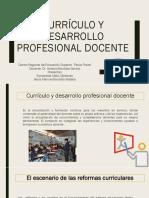 Currículo y Desarrollo