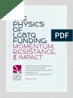 The Physics of LGBTQ Funding