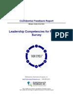 Leadership Competencies Sample Report