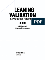 Cleaning Validation a Practical Approach