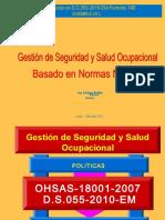Gestion de Seguridad y Salud Ocupacional Basado en Normas Nacional