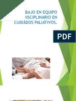 El Trabajo en Equipo Multidisciplinario en Cuidados Paliativos