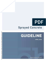 OEVBB RL Sprayed Concrete 2013