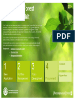 PWC Forest Finance Toolkit