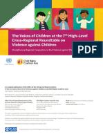 SRSG Voices of Children