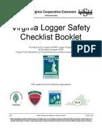Virginia Logger Safety Checklist Booklet PDF