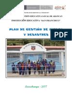 Plan de GRD -Luuchanga Secundaria