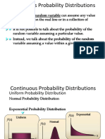 Continuous Probability Distribution-final
