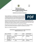 Informe de Elecciones Est.2014