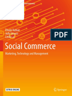 (Springer Texts in Business and Economics) Efraim Turban, Judy Strauss, Linda Lai (Auth.)-Social Commerce_ Marketing, Technology and Management-Springer International Publishing (2016)