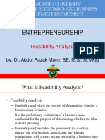 3 Feasibility Analysis