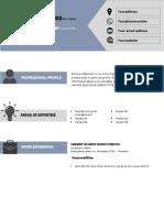 Curriculum Vitae Format-1