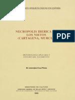 CRUZ PEREZ, M.L. 1990 - Necrópolis Ibérica de Los Nietos (Cartagena, Murcia)