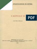 Blazquez Martínez, j.m. 1979 - Castulo II