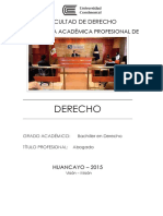 Derecho Plan 2015