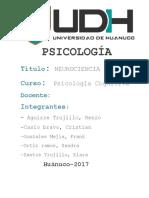 Monografía Neurociencia