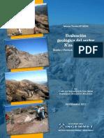 Evaluacion Geologica Sector Kasaccunca