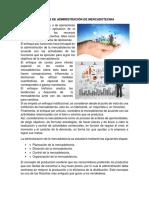 Enfoques de Administración de Mercadotecnia 2