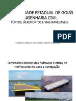Dimensões Básicas Das Hidrovias e Obras de Melhoramen 2018-1