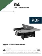 Manual Cortadora de Cerámicos Gamma