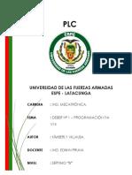 PLC - Programas