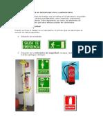 Normas de Seguridad en El Laboratorio de Quimica (1)