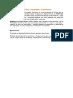 ACTIVIDAD 8 TEMA Tabla Comparativa de Empresas