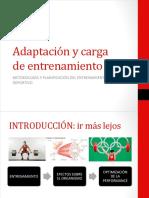 Adaptación y Carga de Entrenamiento 1era PARTE - Copia