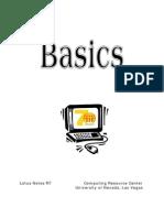 Basic Lotus Notes