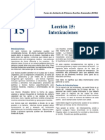 MR 15 Pgs.6 - Intoxicaciones