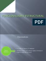 Presentación 1 (Funcionalismo Estructutural)