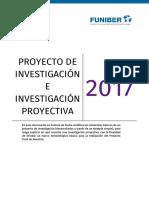 Proyecto de Investigación e Investigación Proyectiva