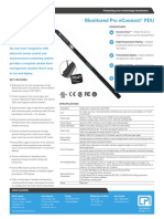 Econnect Pdu Monitored-pro Datasheet