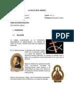 HONDURAS VIDA RELIGIOSA