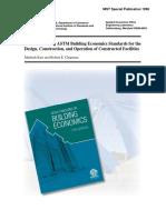 Benefits of Using ASTM Building Economics Standards