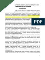 Proyecto Evaluación Comprensión-escritura SUBRAYADO