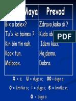 Fraze Na Majanskom