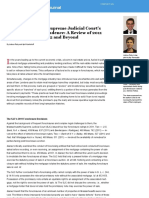 Massachusetts SJC Foreclosure Jurisprudence, 2012