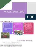 Varicela en El Peru