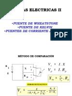Puente de Kelvin Ecuaciones